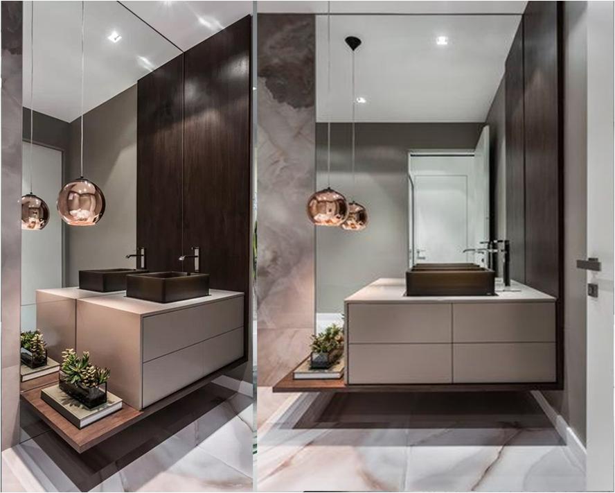 Огледало за баня по размери