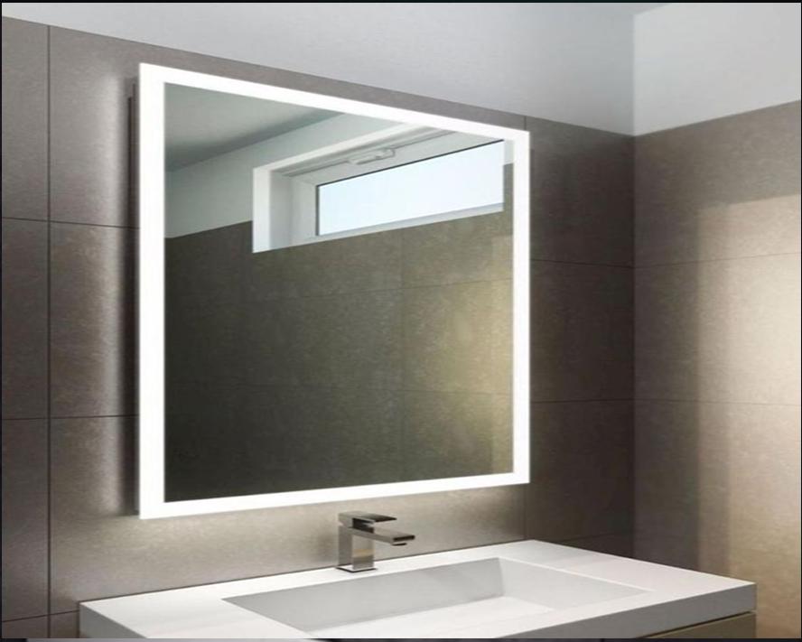 Огледало с LED рамка