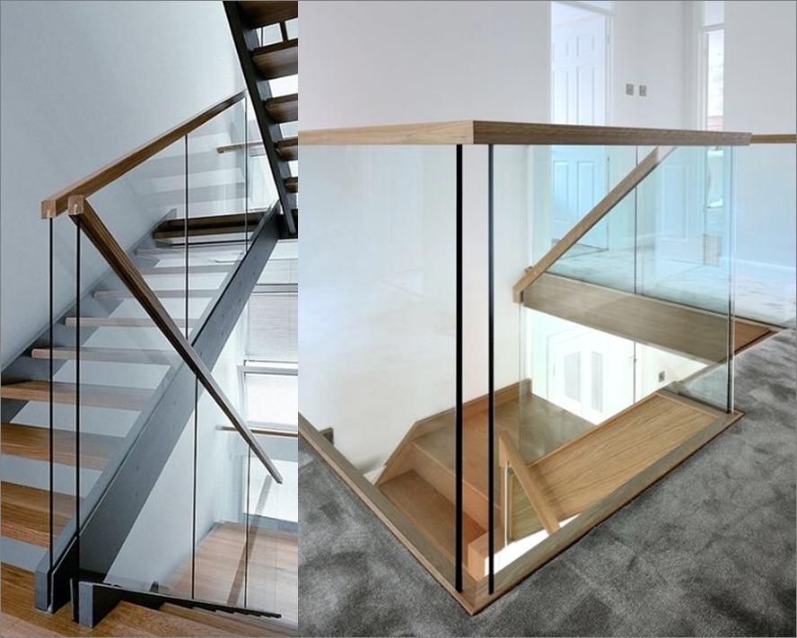 Ръкохватка за стъклен парапет