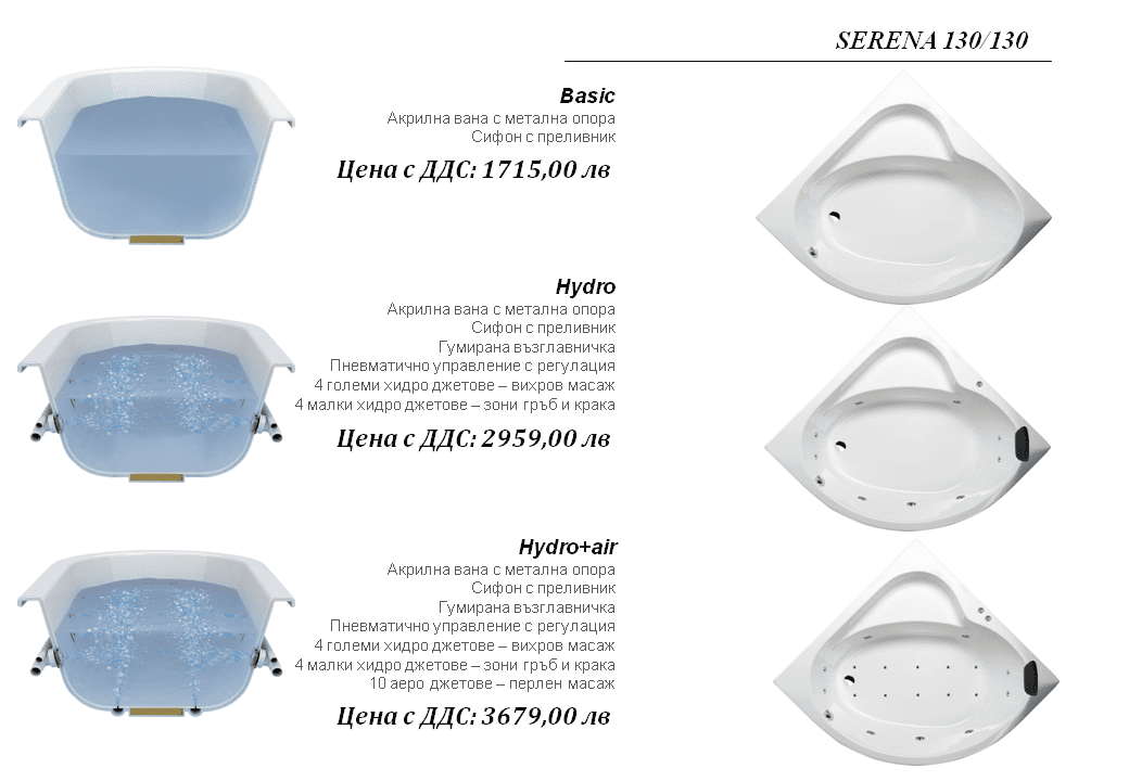 Serena 130×130