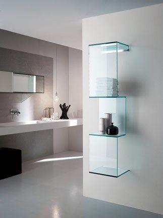 Стъклена етажерка all glass