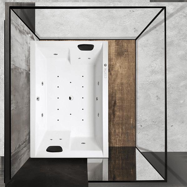 Хидромасажна вана forte box