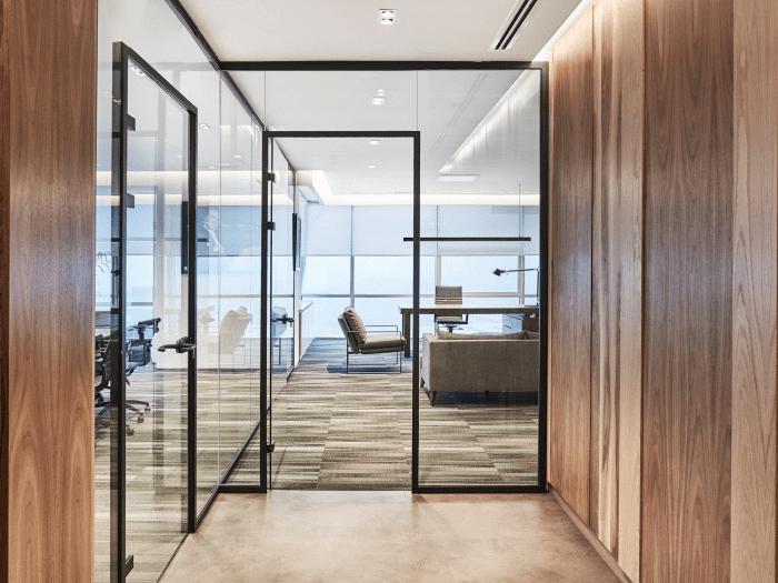 Стъклена преграда Alexa door frame